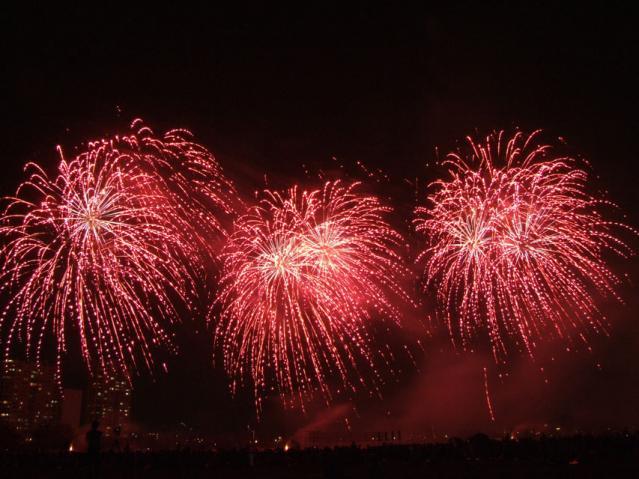 大田区花火の祭典2013(2)