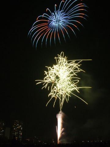 大田区花火の祭典2013(4)