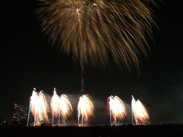 大田区花火の祭典2013(6)