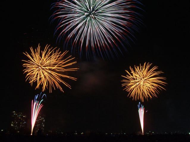 大田区花火の祭典2013(7)