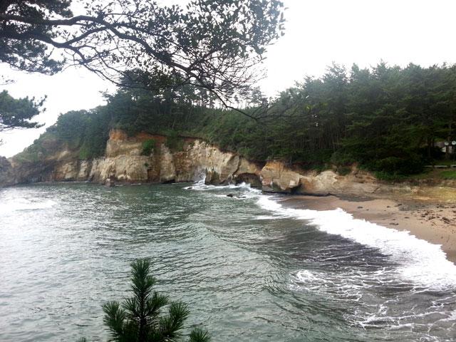 茨城県鵜の岬からの風景(1)