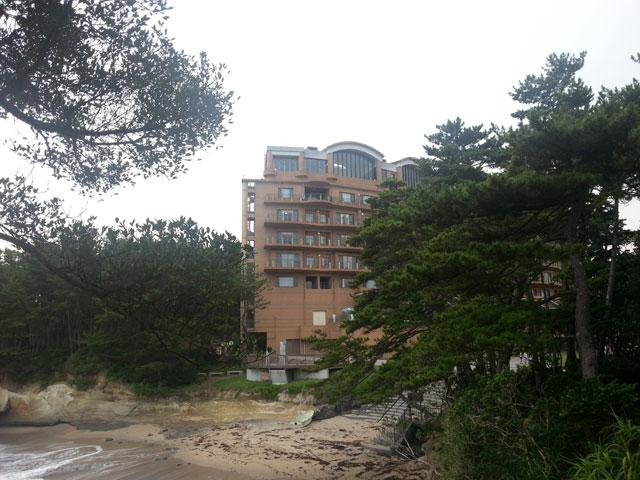 茨城県鵜の岬にある国民宿舎