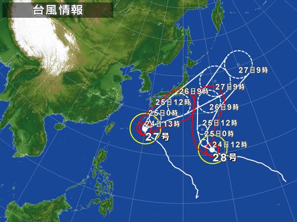 台風2728