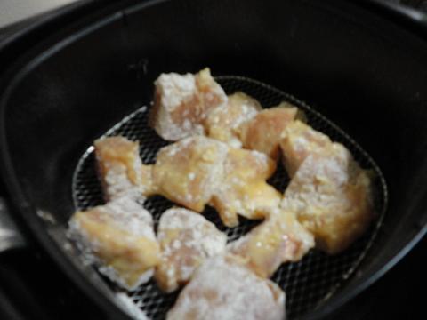 フィリップス ノンフライヤー 鶏胸肉をセット
