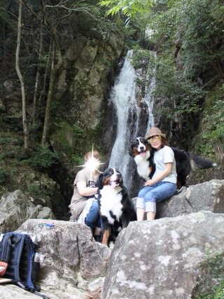 滝と私たち