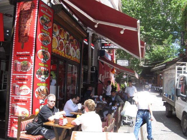 イスタンブールの食