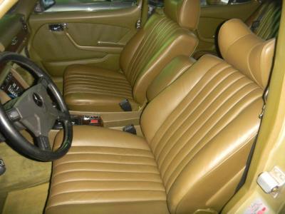 W116Fシートリペアー