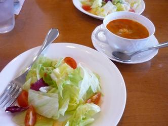 131221サラダとスープ