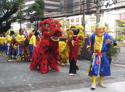 09.1.26中国正月の獅子舞 (9)