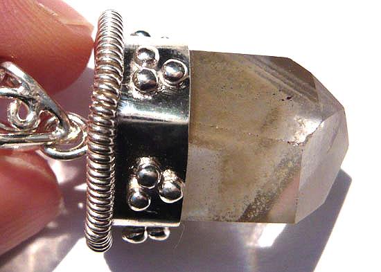ファントム ペンダントa 天然石 パワーストーン silver 925 68
