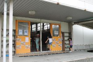 増田西小学校 にじいろシネマ 映画 移動映画館 シネマ 1