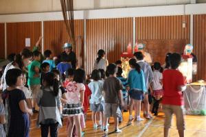 増田西小学校 にじいろシネマ 映画 移動映画館 シネマ 3
