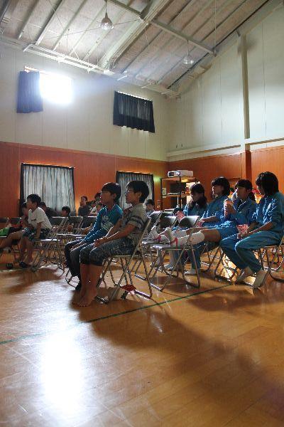 岩手県 大槌 移動映画館 にじいろシネマ 映画 シネマ 14