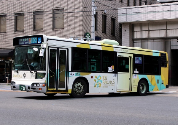 京都200か・696 Raku102