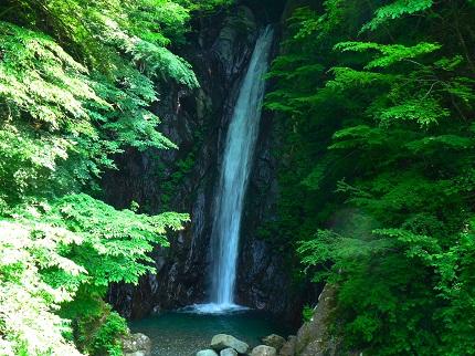 エビラ沢の滝_その1