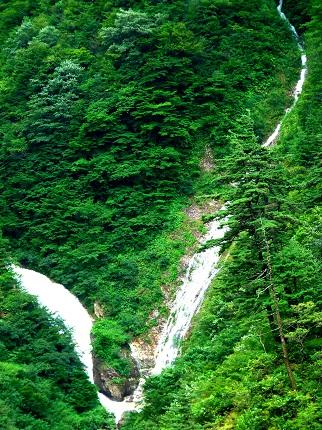 小親谷の滝_その1