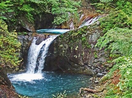 龍神の滝@西沢渓谷