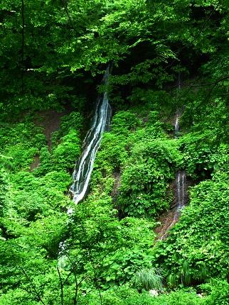 布引の滝@雨滝