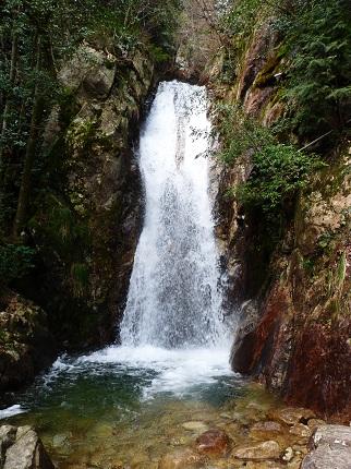 楊梅の滝・雌滝