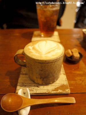 aoiku_cafe◇カプチーノ&ベリースパイスティー