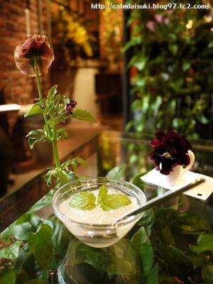 Aoyama Flower Market TEA HOUSE◇ランチのプチデザート(ライチのゼリー)