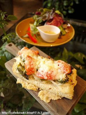 Aoyama Flower Market TEA HOUSE◇春野菜のオープンサンド