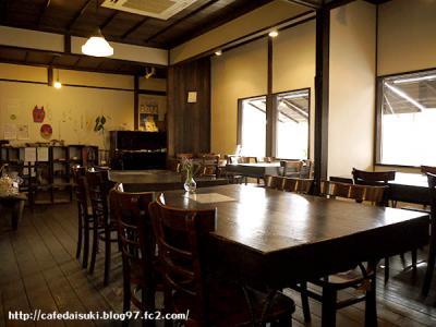 カフェ・ギャラリー 風と木◇店内