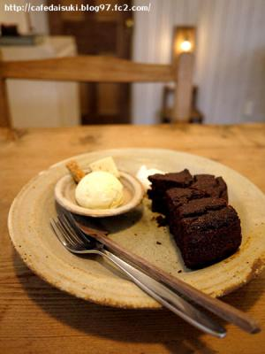Lene cafe◇お豆腐とココアのブラウニー