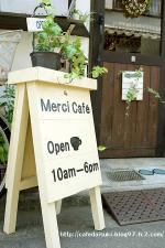 merci cafe◇看板