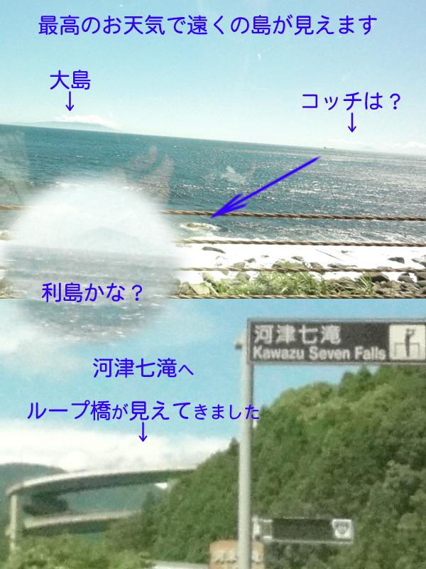 大島と・・・アレは何?