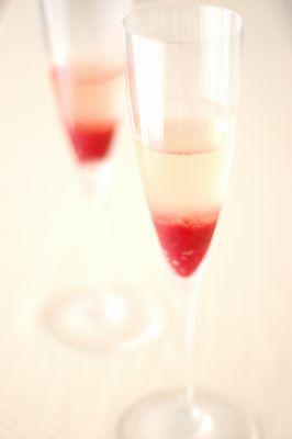 シャンパンのゼリー