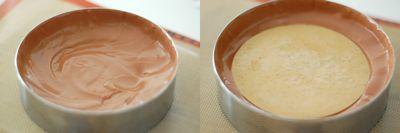 アールグレイとチョコレートのムースケーキ6