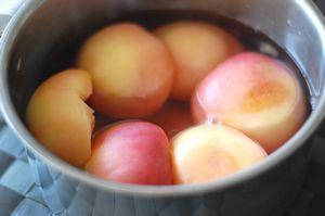 桃のコンポート3