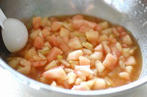 桃のスープ2