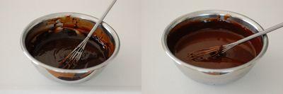 フランボワーズとチョコレートのタルト3
