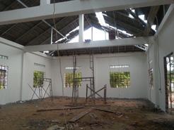 トロパントム図書館 屋根2