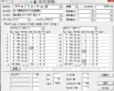 20120520姉ヶ崎スコア