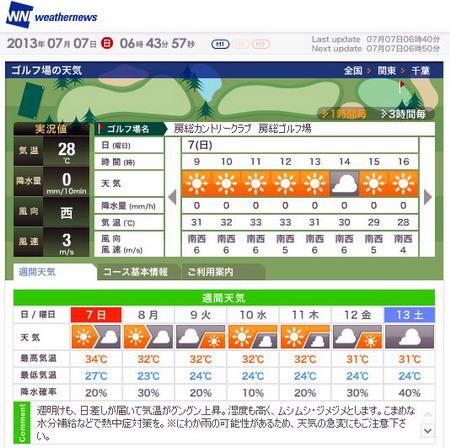 20130707房総天気