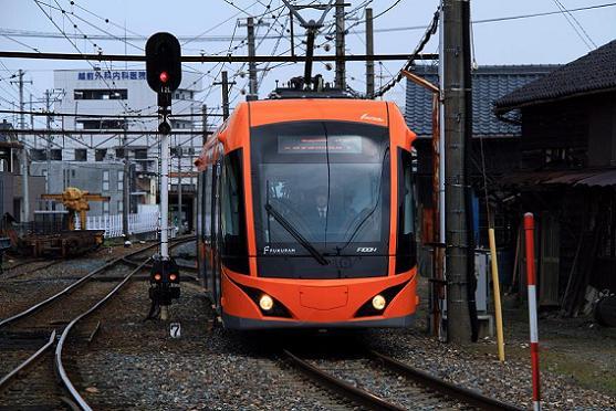 福井鉄道 FUKURAM 運転開始