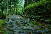 雨上がりの平泉寺