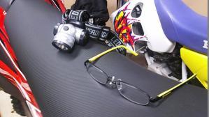 ヘッドライトと老眼鏡
