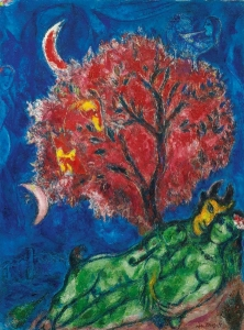 chagall LARBRE ROUGE