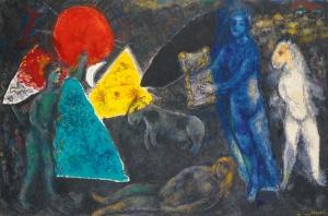 chagall LE MYTHE DORPHÉE