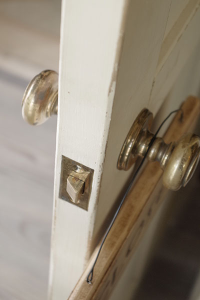 工房のドア制作
