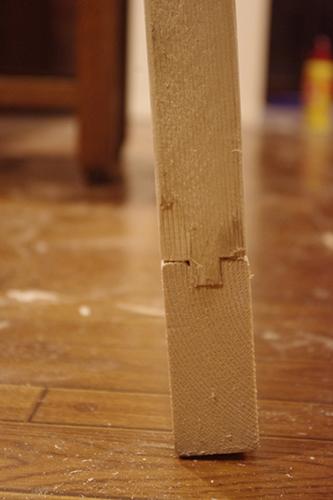 アンティーク風ドアを制作