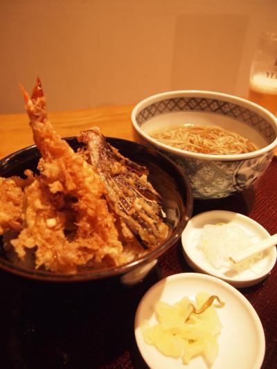 天丼セット(きびや)