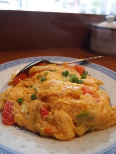 トマト卵炒め(新記)
