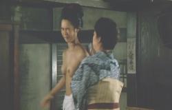 名取裕子初ヌード「序の舞」(1984年東映)その3