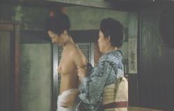 名取裕子初ヌード「序の舞」(1984年東映)その2