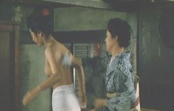 名取裕子初ヌード「序の舞」(1984年東映)その1